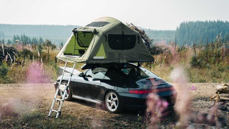 Ποιος είπε ότι η Porsche 911 δεν κάνει για Camping; [pics]
