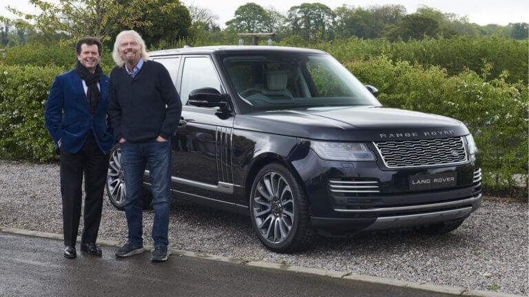Ένα Range Rover μόνο για… αστροναύτες!