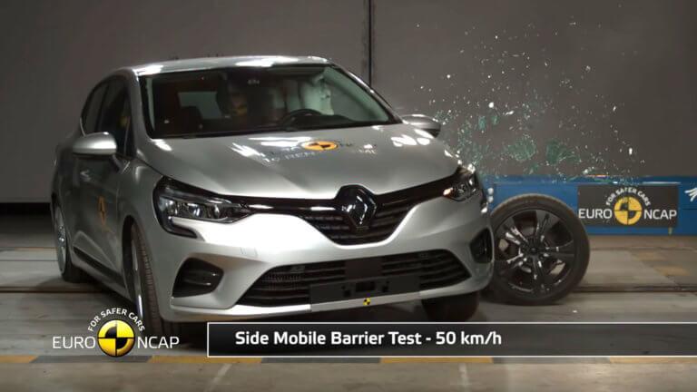 Αρίστευσε το νέο Renault Clio στις δοκιμές πρόσκρουσης [vid]