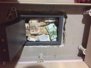 Μεγάλη κλοπή από χρηματοκιβώτιο στη Θεσσαλονίκη