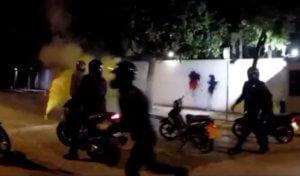 Ο Ρουβίκωνας πίσω από την καταδρομική επίθεση στο σπίτι του Αμερικανού πρέσβη