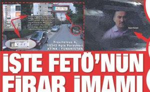 """Η Sabah… """"βρήκε"""" ηγετικό στέλεχος των γκιουλενιστών στην Αθήνα!"""
