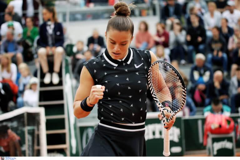 Roland Garros: Δεν τα κατάφερε η Σάκκαρη! Αποκλείστηκε από τη Σινιάκοβα