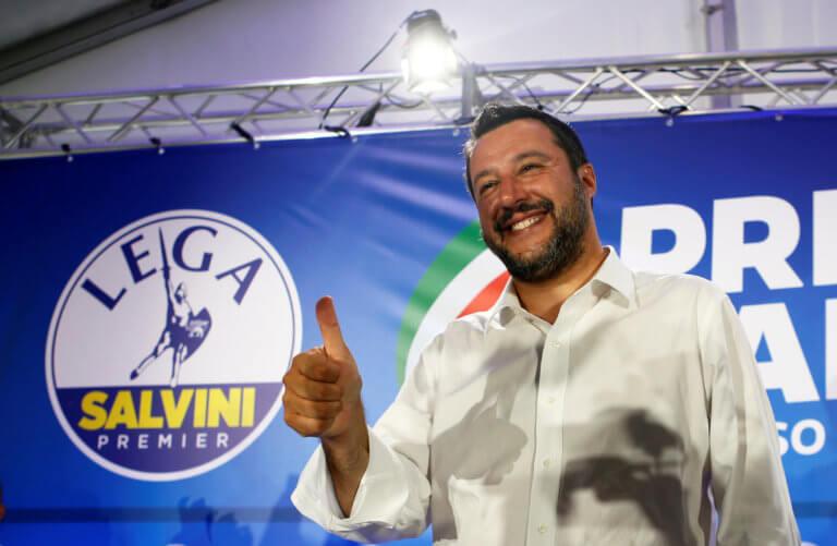 Ευρωεκλογές – Ιταλία: Ο Σαλβίνι συμπεριφέρεται σαν πρωθυπουργός μετά την νίκη του