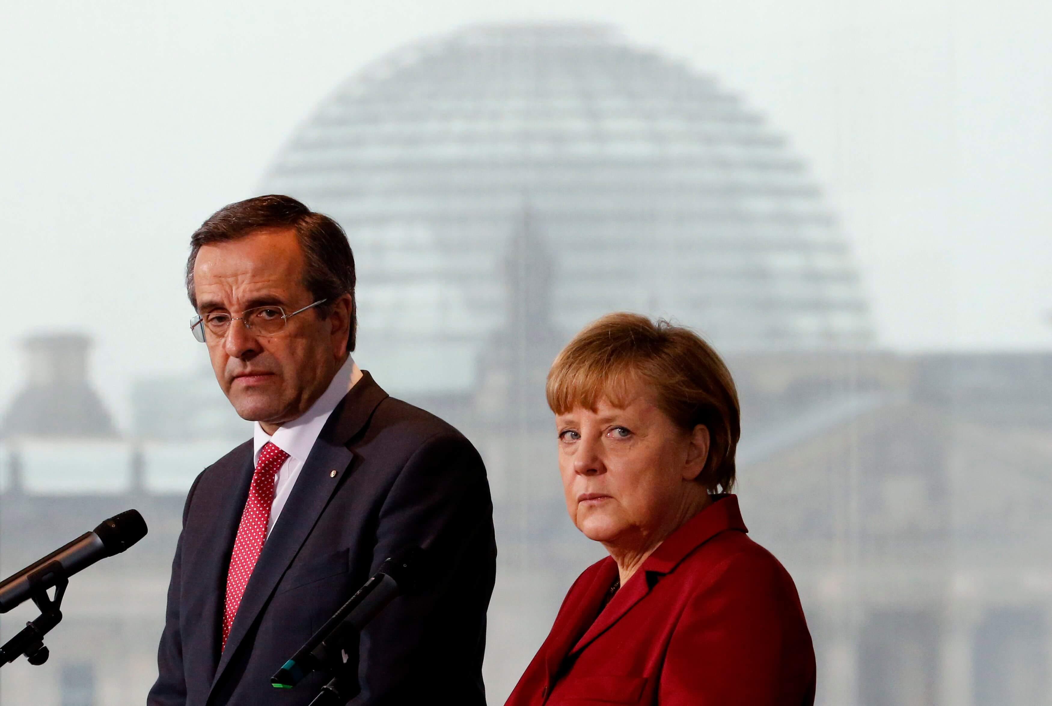"""Σαμαράς: Η Μέρκελ μου είχε προτείνει Grexit – Της είπα """"ξέχασε το"""" – video"""