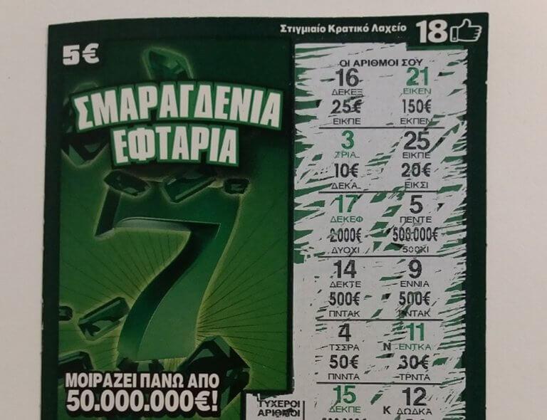 ΣΚΡΑΤΣ: «Tρελάθηκε» η τύχη στην Κεφαλονιά! 500.000 ευρώ λόγω… της γυναίκας του!