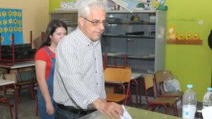 Εκλογές 2019: Στην Ριζούπολη ψήφισε ο Νίκος Σοφιανός
