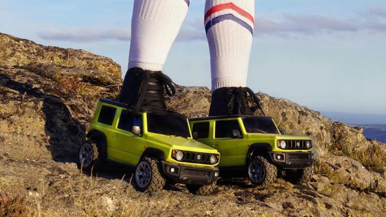 Το νέο Suzuki Jimny τώρα και σε… πατίνια! [vid]