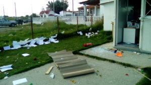 """Θεσσαλονίκη: Διέλυσαν νηπιαγωγείο στον οικισμό ρομά """"Αγία Σοφία"""""""