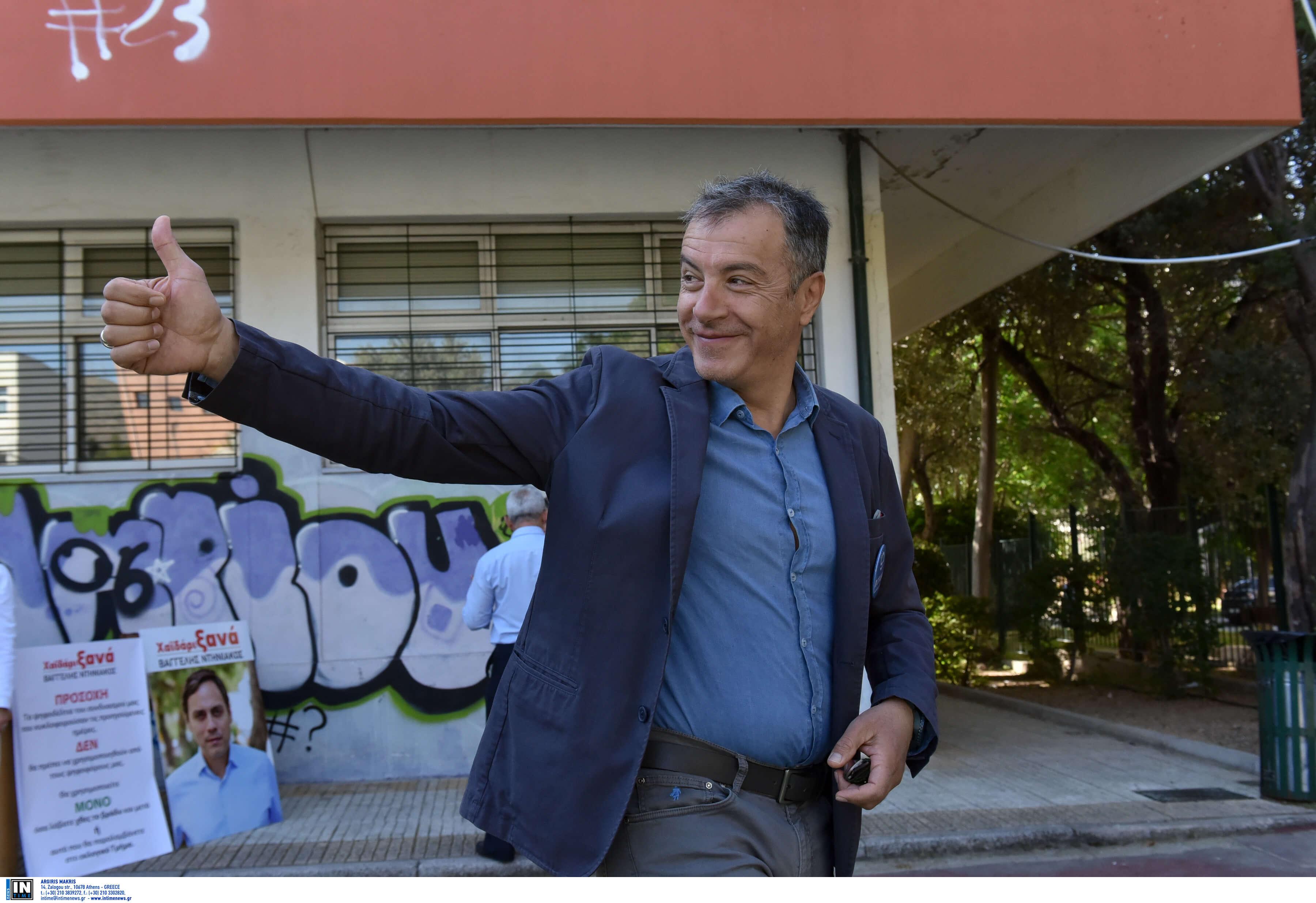 Εκλογές 2019: Ο Σταύρος Θεοδωράκης και το… σπερματοζωάριο – video