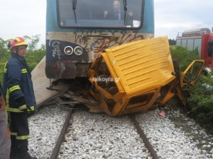 Ημαθία: Άνοιξε η σιδηροδρομική γραμμή μετά το δυστύχημα