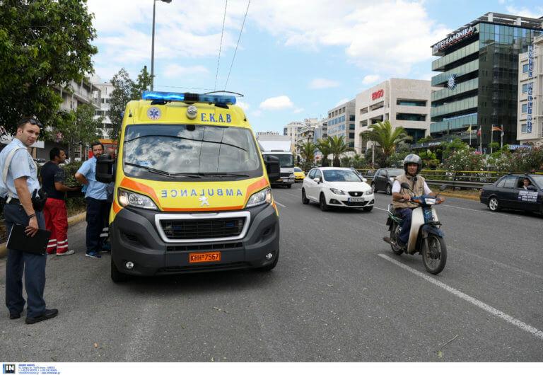 Φρικτό τροχαίο στην Πατησίων με δυο γυναίκες σε κρίσιμη κατάσταση