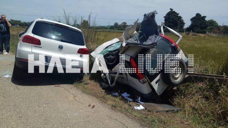 Ηλεία: Σκοτώθηκαν δύο αδέρφια σε φοβερό τροχαίο – Το ταξίδι για τις εκλογές τους στοίχισε τη ζωή [pics]