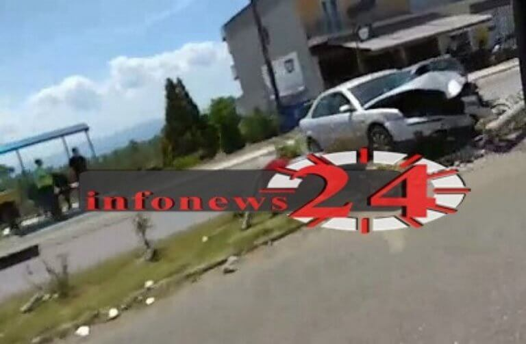 Σέρρες: Διαλύθηκε το αυτοκίνητο που καρφώθηκε σε κολώνα – Αυτοψία στο σημείο [pic, video]