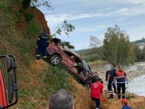 Χανιά: Ανατριχιαστικό τροχαίο με νεκρό οδηγό – Το αυτοκίνητο έπεσε από γέφυρα σε γκρεμό [pics]