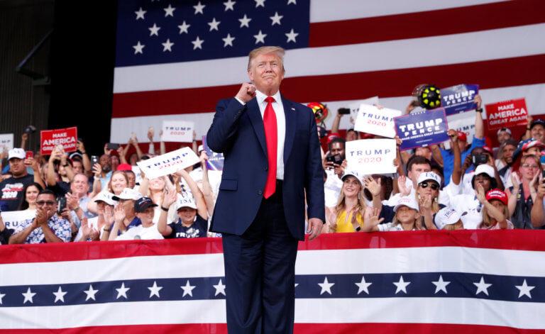 Από το «προπύργιό» του, τη Φλόριντα ονειρεύεται ο Τραμπ νίκη στις εκλογές [pics]