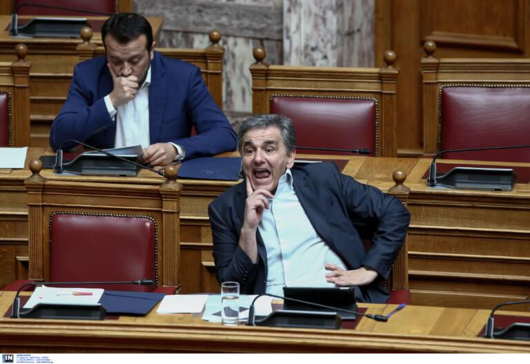Βουλή: Άγριος καυγάς Τσακαλώτου – Βενιζέλου