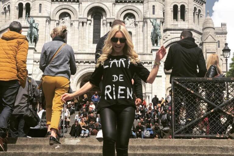 Μάρκος Σεφερλής – Έλενα Τσαβαλιά: Τα όμορφα στιγμιότυπα από το ταξίδι τους στο Παρίσι! [pics]