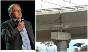 """Κόντρα για τη """"ρωγμή"""" στη γέφυρα του Φαληρικού Δέλτα – Τσελέντης: Αυτό φοβάμαι"""