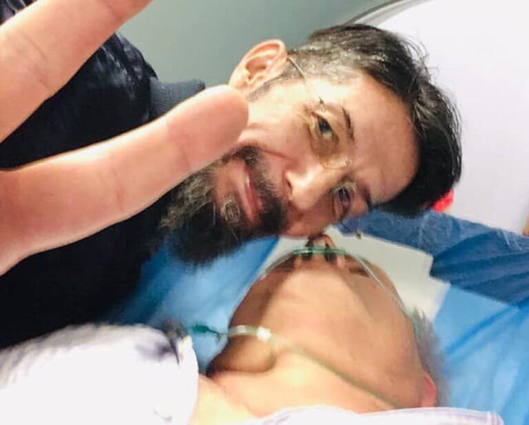 Θύμα τροχαίου ο Άκης Τσελέντης! Νοσηλεύεται στο Θριάσιο