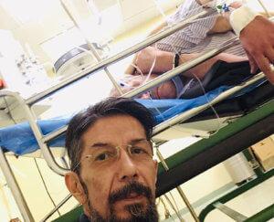 Άκης Τσελέντης: Τον απεγκλώβισε η Πυροσβεστική μετά το τροχαίο στο Περιστέρι
