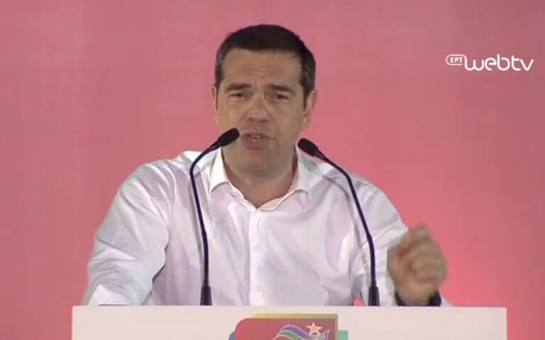 Ευρωεκλογές 2019 – Τσίπρας: Το κοινωνικό συμβόλαιο δεν θα σπάσει – Δεν πετάμε στα σύννεφα