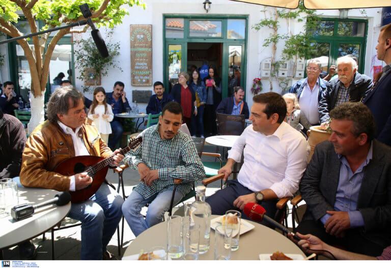 «Η Κρήτη αλλάζει πρόσωπο» – Η επίσκεψη Τσίπρα στα Ανώγεια