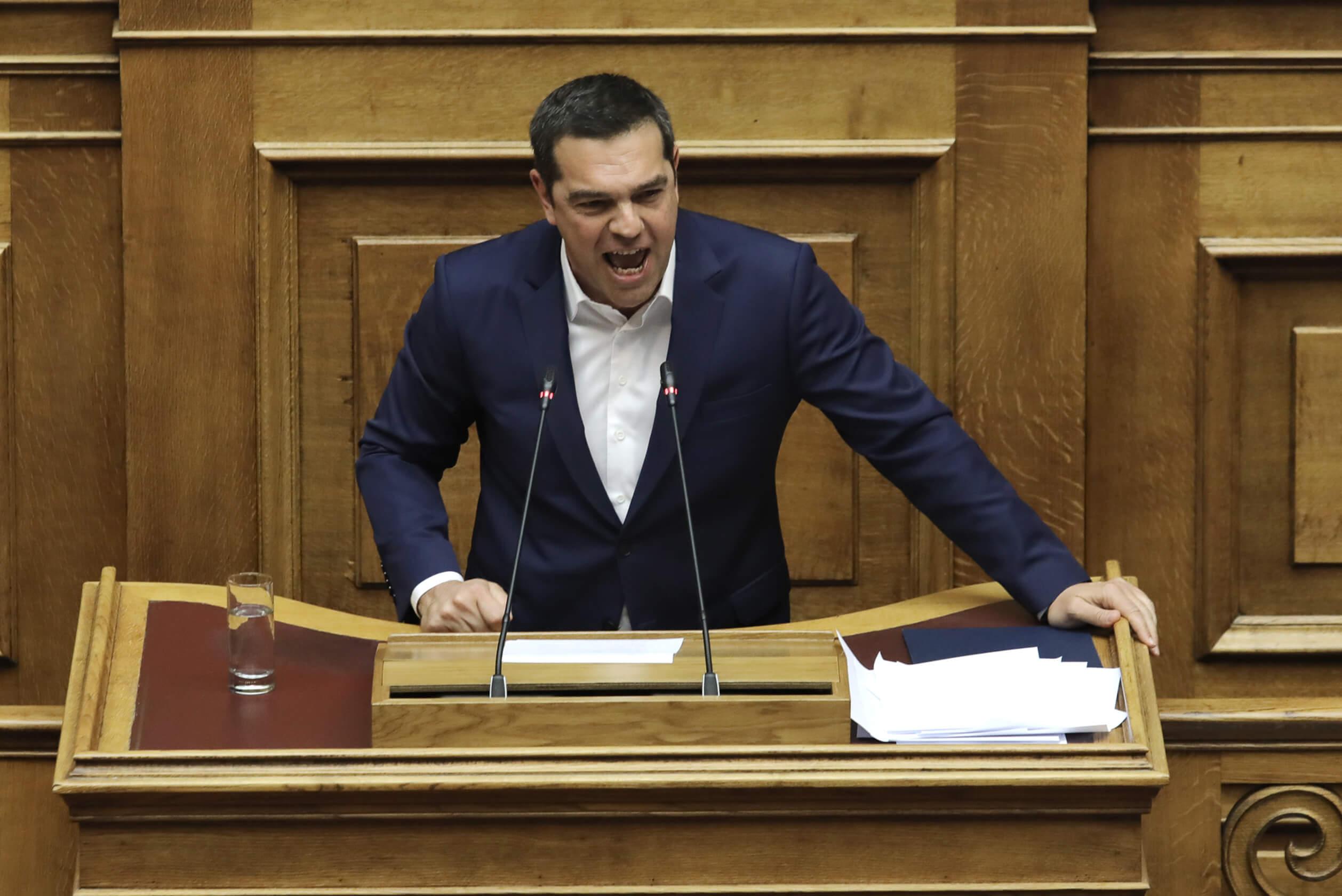 Ψήφος εμπιστοσύνης: Η ομιλία Τσίπρα στην Βουλή – video