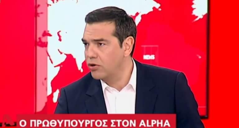 Εκλογές 2019: Live η συνέντευξη Τσίπρα στον Alpha