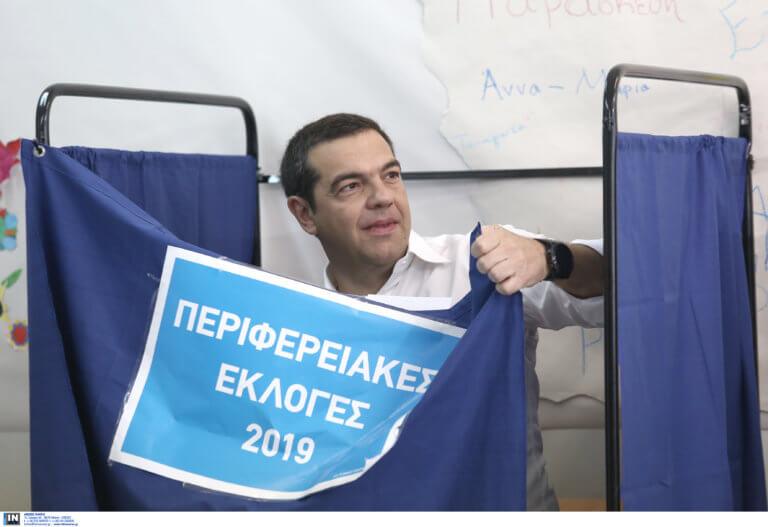 Εκλογές 2019: Ψήφισε στην Κυψέλη ο Αλέξης Τσίπρας – νideo