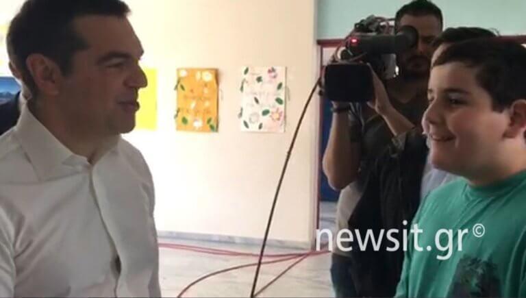Εκλογές 2019: Ο Αλέξης Τσίπρας και ο «επίδοξος» πρόεδρος της Δημοκρατίας [video]