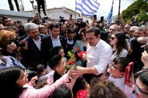 Εικόνες από την περιοδεία Τσίπρα στην Ξάνθη