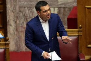 Η ομιλία Τσίπρα στην Βουλή πριν την ψήφιση των παροχών