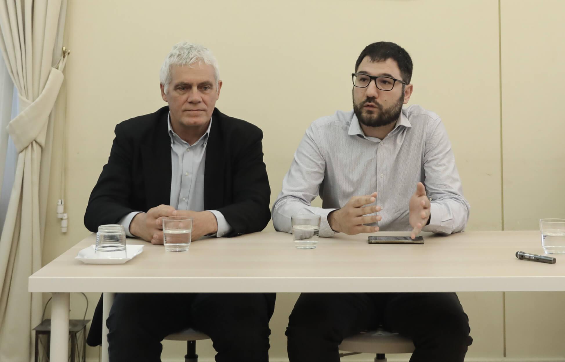 Μαζί για τον Δήμο της Αθήνας Ηλιόπουλος - Τσιρώνης - Ανακοινώθηκε η συνεργασία
