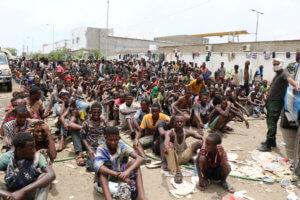 Υεμένη: Οκτώ νεκροί μετανάστες από διάρροια σε καταυλισμό
