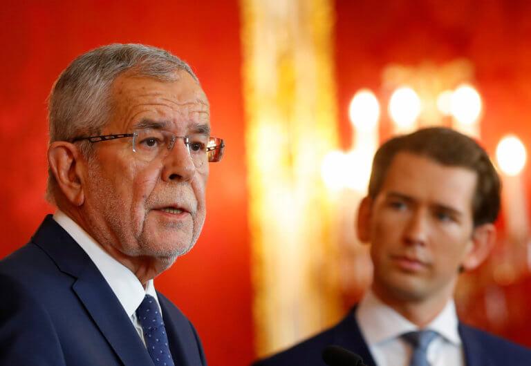 Αυστρία: Εκτός κυβέρνησης οι ακροδεξιοί υπουργοί – Παραμένει η ΥΠΕΞ