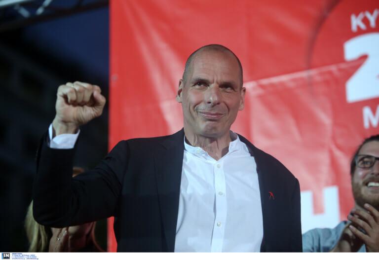 Ευρωεκλογές 2019 – Βαρουφάκης: Αύριο ξεκινά η αρχή του τέλους της ελληνικής κρίσης με το ΜέΡΑ 25