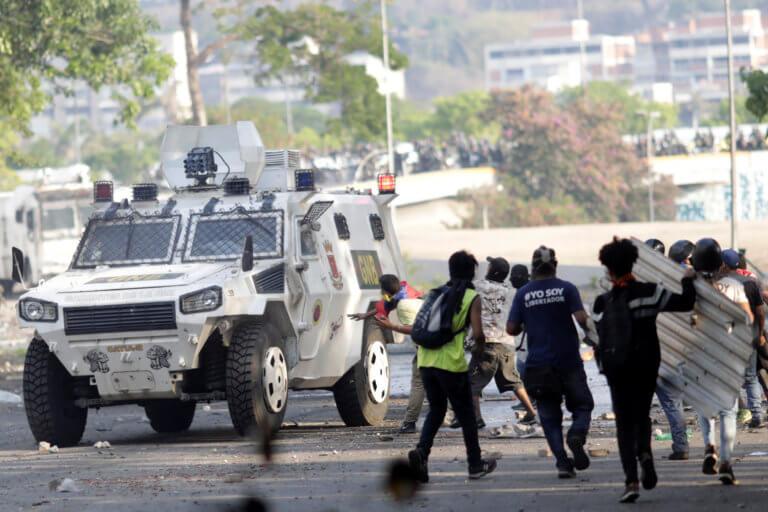 Βενεζουέλα: Δύο νεκροί κατά τη διάρκεια των διαδηλώσεων στη χώρα