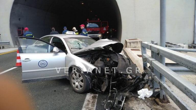 Βέροια: Σκοτώθηκε επιβάτης ταξί σε τροχαίο στην Εγνατία Οδό!