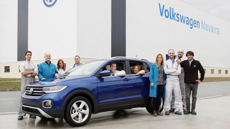 H Volkswagen φτιάχνει ήδη περισσότερα T-Cross από Polo