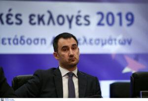 Εκλογές 2019 – Χαρίτσης: Σοβαρό θεσμικό ατόπημα οι δηλώσεις Αυγενάκη