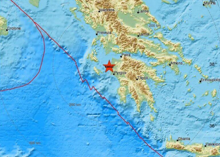 Νέος σεισμός στην Ηλεία!