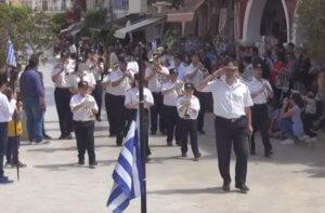 Ζάκυνθος: Η μαθητική παρέλαση για την ενσωμάτωση των Επτανήσων στην Ελλάδα – video