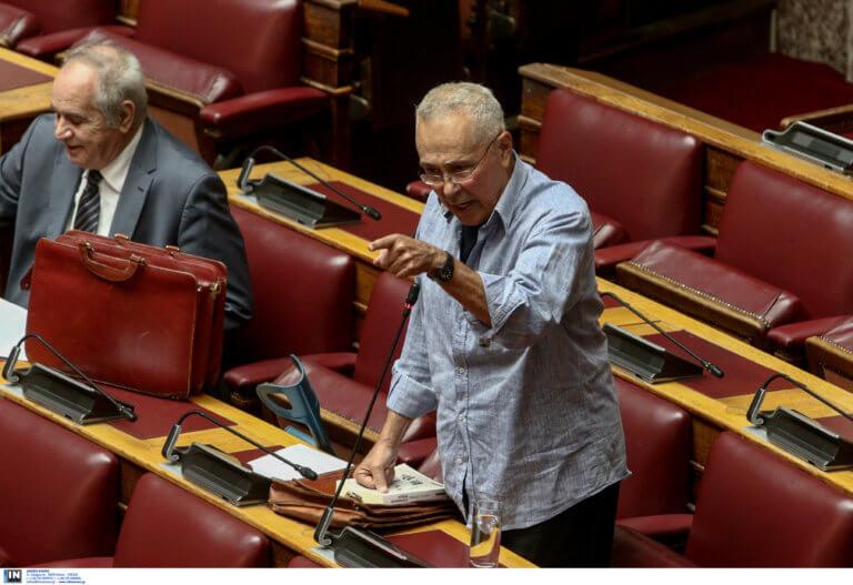 Ζουράρις στη Βουλή – Διαβάστε με δική σας ευθύνη
