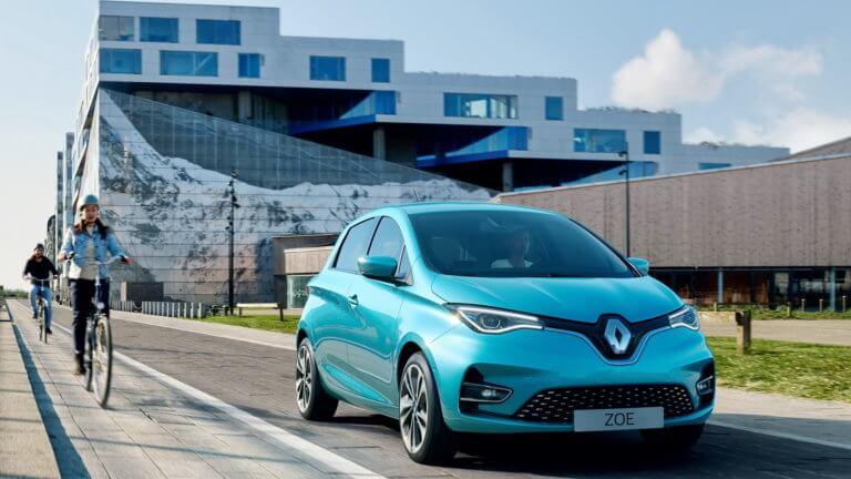 H Renault ανανέωσε το μικρό ηλεκτρικό Zoé [vid]