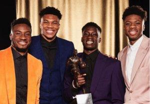 Αντετοκούνμπο: Πανευτυχής μαζί με τα αδέρφια του! MVP οι AntetokounBros – video, pic