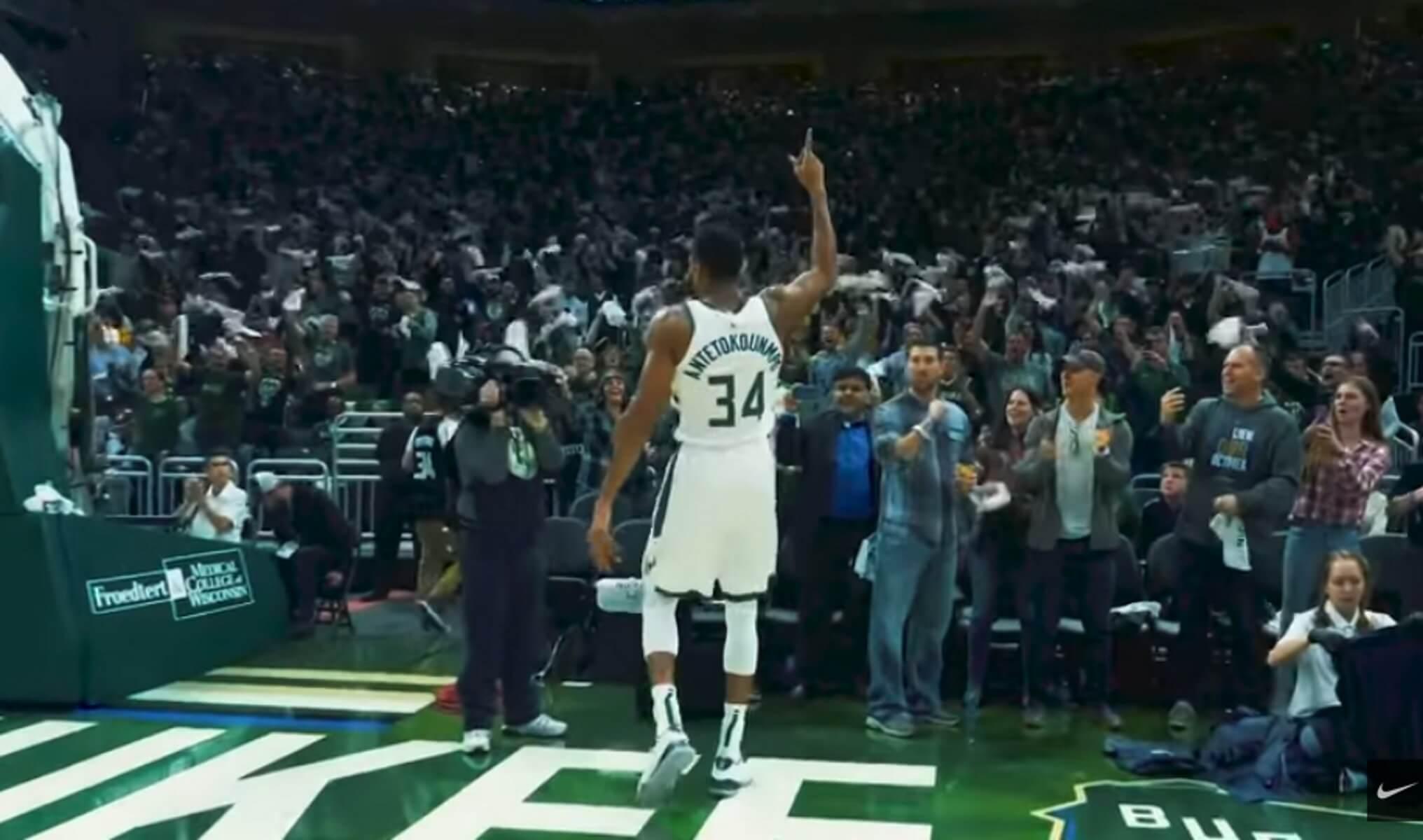 Αντετοκούνμπο: Τρομερό video της NIKE για τον MVP του NBA