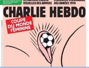 "To ""Charlie Hebdo"" προκαλεί! Σάλος με το εξώφυλλο για το Μουντιάλ Γυναικών"