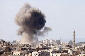 Συρία: Έκρηξη σε αποθήκη πυρομαχικών στη Δαμασκό!