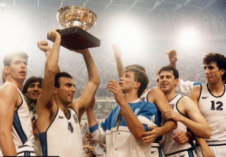 Εθνική Ελλάδας: Η FIBA θυμήθηκε τον άθλο του '87! video